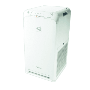 Luftrenser, Daikin MC55W Streamer Technology og aktivt plasma ion. Stillegående.