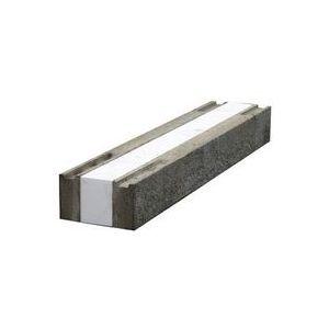 Leca Isobjelke komplett, BHL = 35x20x180 cm