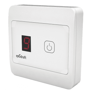 Exodraft - Hastighetskontroll EFC18, automatisk, m/føler