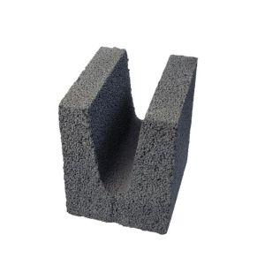 Leca Finblokk 20cm U-blokk