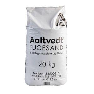 Fugesand, 20 kg sekk, fra Aaltvedt