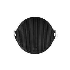 Grillplate, Mørk grå, ø47 cm