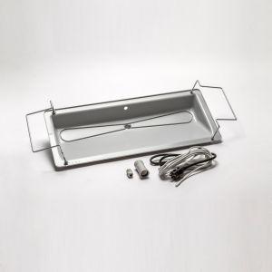 Dryppanne plast m/ varmekabel 1000x400x124mm