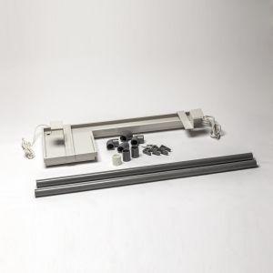 Drypp-panne m/ varme og inntil 2 meters drensrør m/ varmekabel.