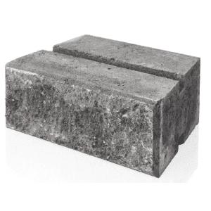 Hagemur, 1/1 stein, koksmix, fra Asak
