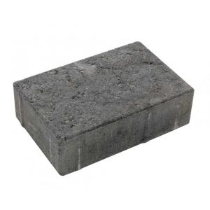 Asak - Relieff liten pall, 20x13,5x6, Gråmix