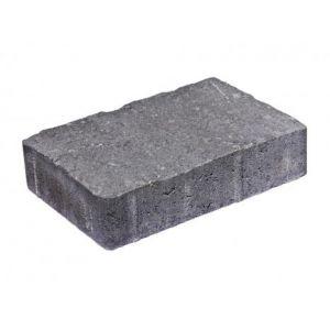 Akershusstein, liten pall, 20 x 13,5 x 5 cm, Gråmix, fra Asak