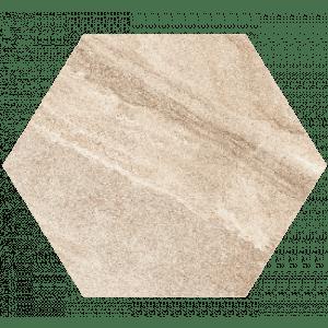 Helle Heksagon, 6-kantet i fargen Latte, fra Aaltvedt