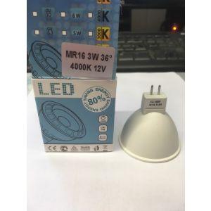 LED pære MR16 / 12 V - 3 W til Norgarden lys