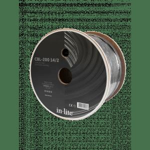 in-lite kabel,  14/2, 200 meter rull, CBL-200