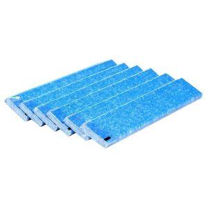 Filter for Daikin MC707WM luftrenser, Pleated filter, pakke med 6 stk.