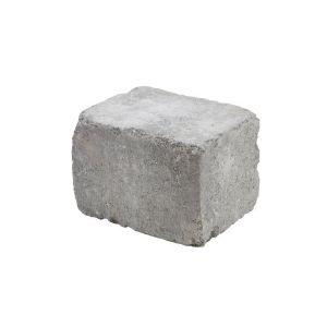 Rådhus Mur, 1/2 stein, Mur/Kantstein, Gråmix, fra Aaltvedt