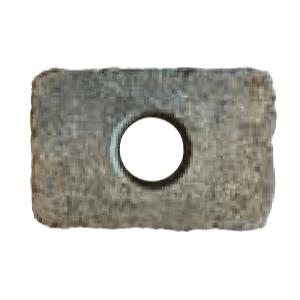 Hullboring for belysning i Asak mur, kantstein eller beleggningsstein.