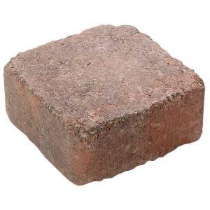 Asak - Herregårdstein kvadrat, 13,5x13,5x6, Rødmix
