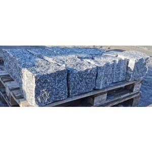 Naturstein blokk / mur / støttemur, Larvikblokka, Rustikk, 20 x 20 cm