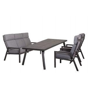 Lerida Sofagruppe med spisebord