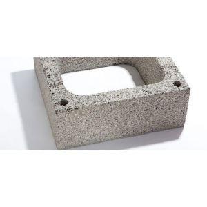 Leca Maxi, pipelement, 20x50x50 cm (hxbxl), ettløps