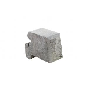 Aaltvedt - Mini Støttemur Knekt 1/2 Gråmix