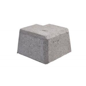Mini Støttemur, Hjørne stein innvendig og utvendig nr. 1, fra Aaltvedt