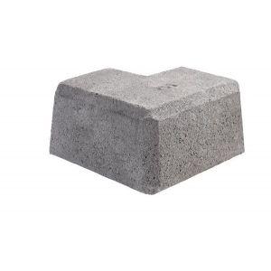 Mini Støttemur, Hjørne stein innvendig og utvendig nr. 3, fra Aaltvedt