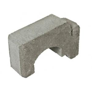 Ministøttemur 1/2-stein, 12,5 x 34 x 17 cm, Grå, fra Asak