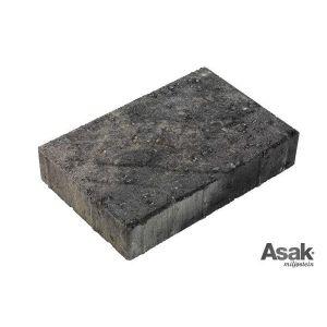 Relieff XXL, belegningstein, 30 x 20 x 6 cm, Gråmix, fra Asak