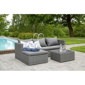 Rosario sofagruppe lys grå