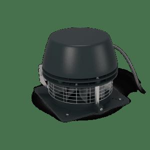 Røyksuger, Exodraft RS-009-4-1 (Horisontal), til over møne