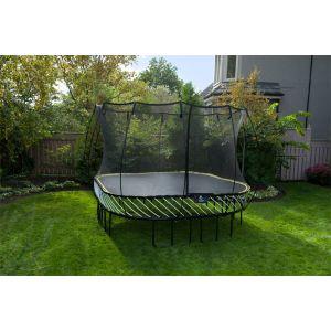 """Springfree S113 """"Pakke"""", stor firkantet trampoline"""