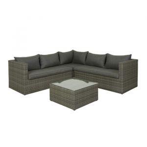 Sardinia sofagruppe mørk grå