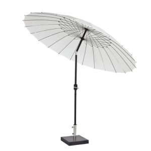 Shanghai parasoll hvit