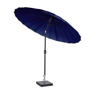 Shanghai parasoll marine blå