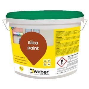 Weberton Silko Paint, Silikonharpiksmaling, Weber standardfarger, 15 kg,