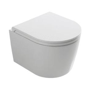 Globo Fort3 Toalett, Vegghengt Kompaktmodell