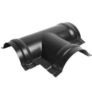 T-Møne Svart - Aluminium