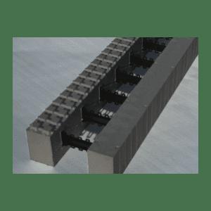 Thermomur: 1/2-blokk Radon 350 - Åpen
