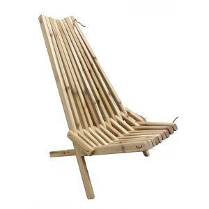 Stick Hagestol, ergonomisk stol i sedertre