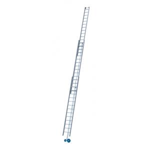 Stige, heisestige / skyvestige, 3-delt, 12,5 meter, Z600, fra Zarges