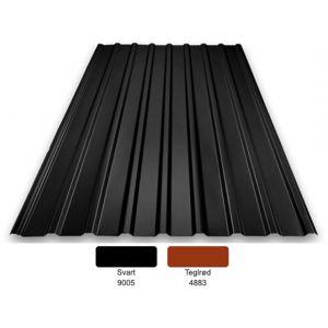 TP 16: 0,6mm Polyester 25my med kondensbelegg - flere farger