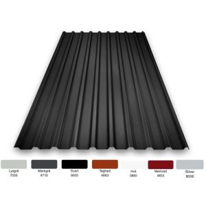 TP 18: 0,5mm Polyester 25my - flere farger