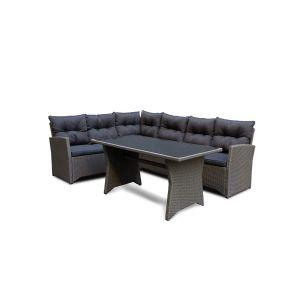 Tulsa sofagruppe grå