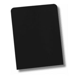 Helmin - Underlagsplater 1 mm, lakkert sort