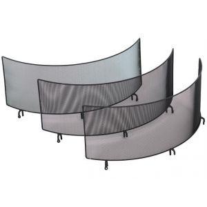 Gnistfanger til bålpanne 60. Sett med tre vegger, ø60 cm