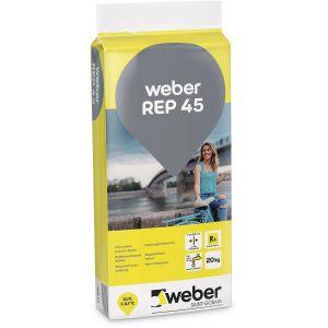 Weber REP45 Reparasjonsmørtel, 20 kg sekk