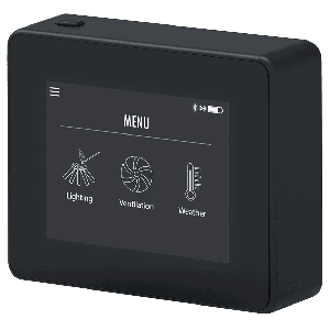 Exodraft - Xzense-kontroll /styring, trådløs