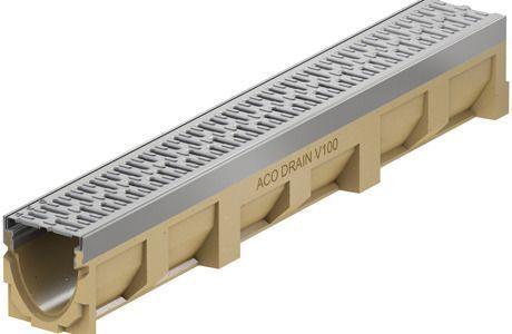 Aco Multiline Renne 0,5 m, 50x13,5x15 cm, uten rist