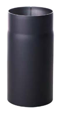 Helmin - Røykrør Ø125X1000mm, Sort