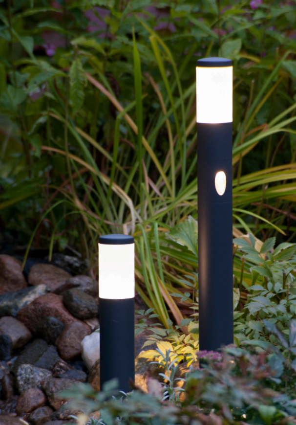 Norgarden Hagelys LED, 45cm Høyde, alu 12v